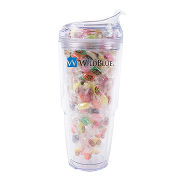Strato 18 oz. Double Wall Tumbler with Jelly Beans