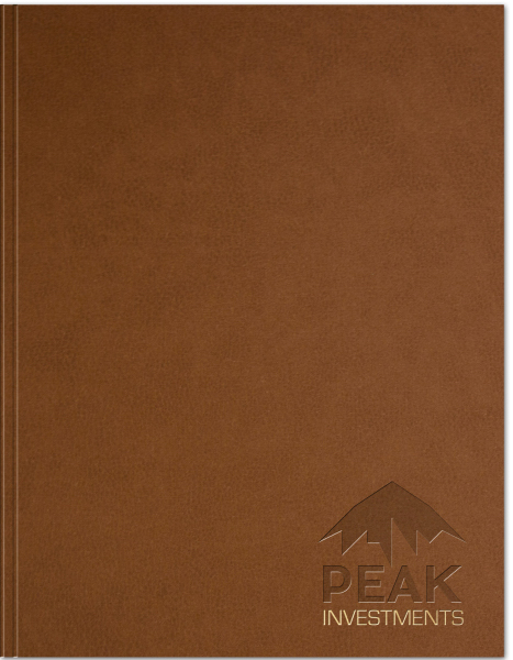 NEW! Rustic Leather Flex Large NoteBook
