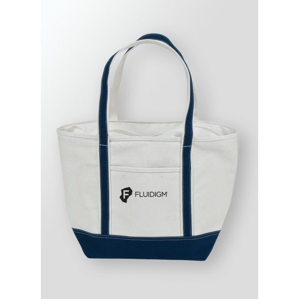 Zippered Boat Tote