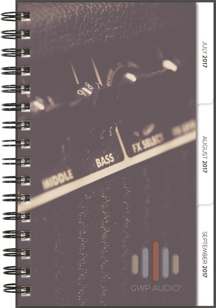 NEW! 2017 Tabbed Quarterly - Small ClearView Planner