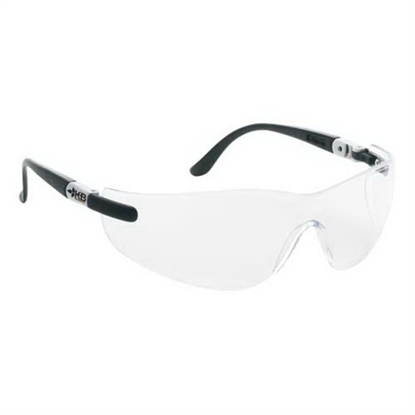 Wrap-Around Safety Glasses w/ Ratchet Temples