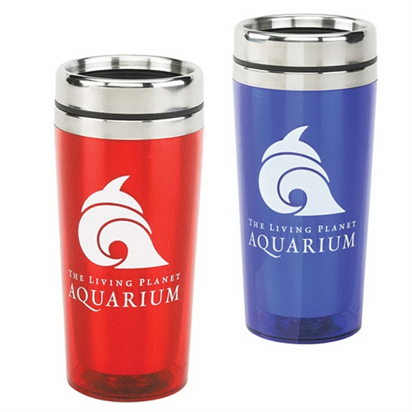16 Oz Classic Acrylic/Stainless Steel Tumbler