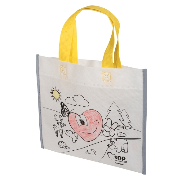 Color Me Bag with Crayons