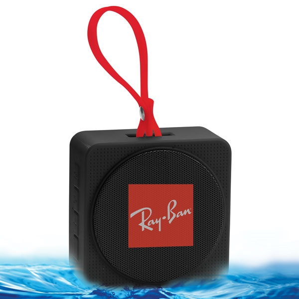 Waterproof Bluetooth Mini Square shaped Watercube Speaker