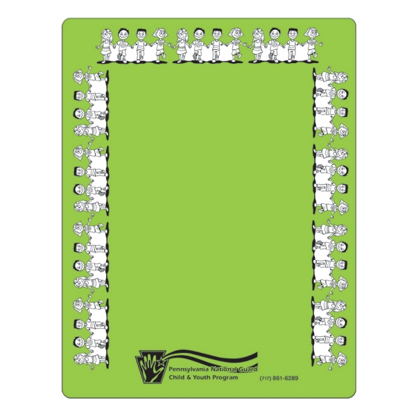 "Repositionable Adhesive Memo Board (8 1/2"" x 11"")"
