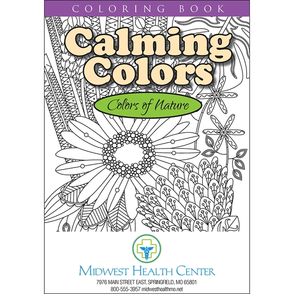 Colors of Nature Coloring Book