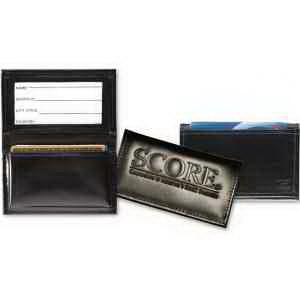 Deluxe Gusseted Business Card Case