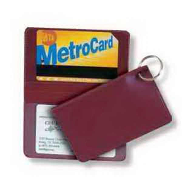 Card Case with Key Ring