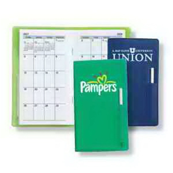 Monthly Pocket Planner with Pen