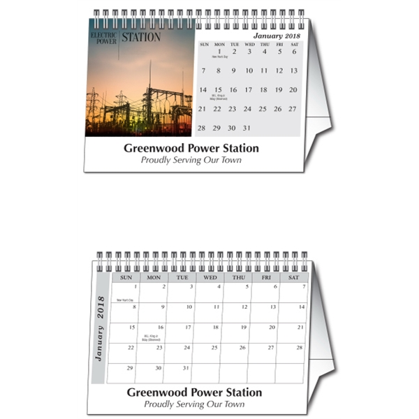 Personalized Tent Desk Calendar (New Size)