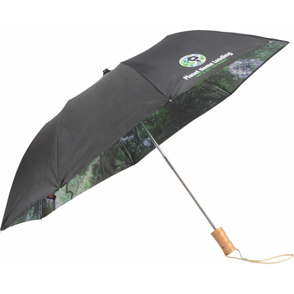 "46"" Forest Auto Open Folding Umbrella"