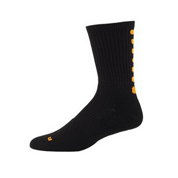 Youth Color Block Crew Sock
