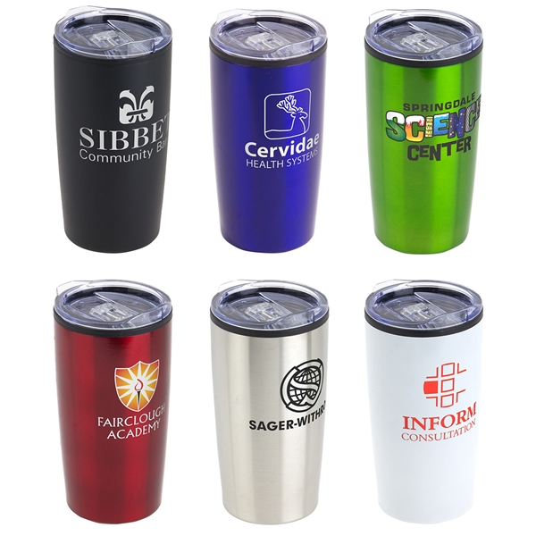 Olympus 20oz Double Wall Stainless Steel/PP Tumbler