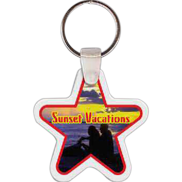 Star Key Tag