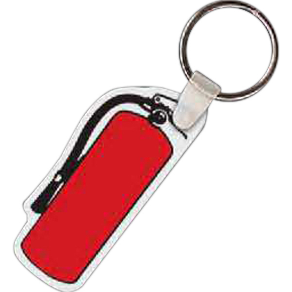 Promotional Fire Extinguisher Key Tag