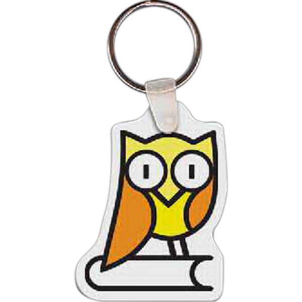 Owl Key Tag