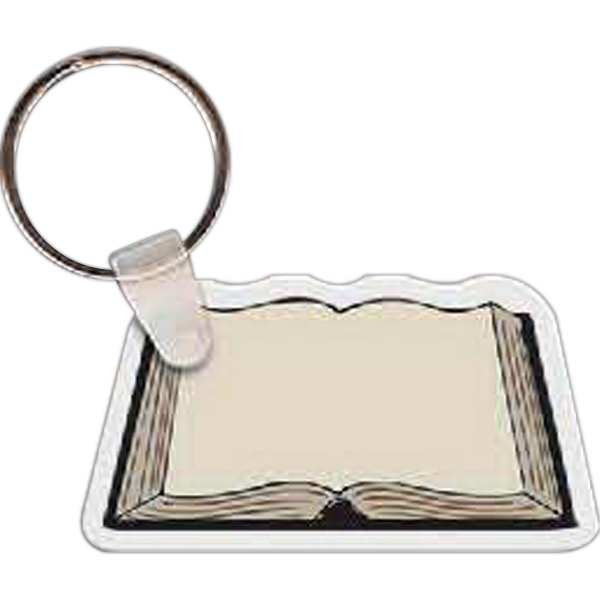 Personalized Book Key Tag