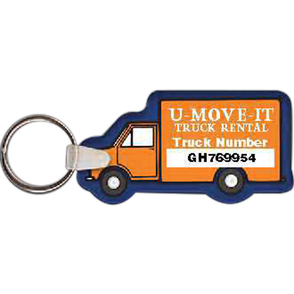 Box Truck Key Tag