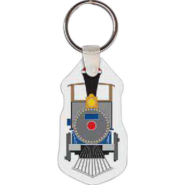 Customized Train Key Tag