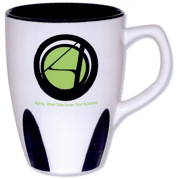 Promotional Full color stoneware Astro mug, 16 oz