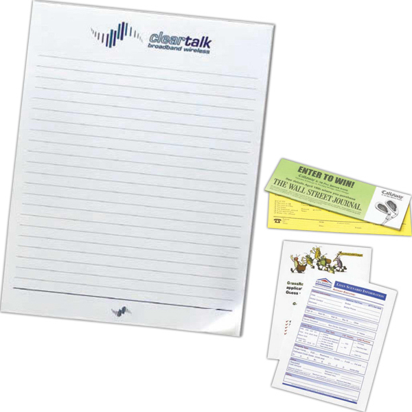 "8 1/2"" x 11"" Stick-Withit (R) Sticky Notes"