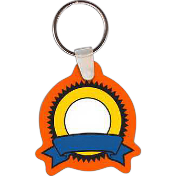 Printed Ribbon Key tag