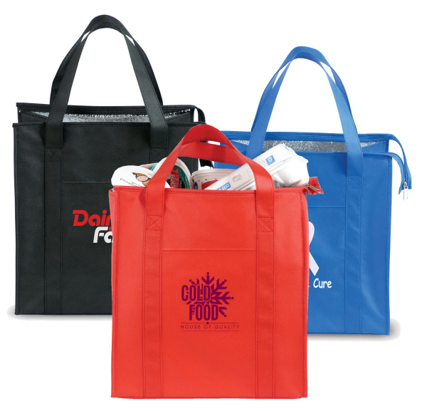 Non-Woven Insulated Shopping Tote