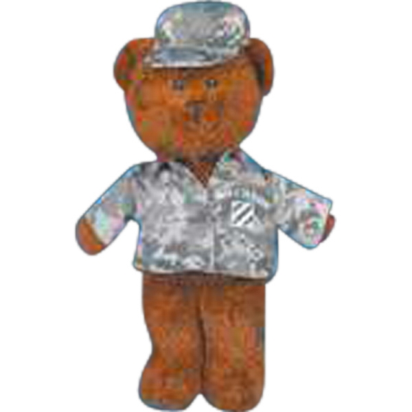 Digital camouflage outfit for stuffed animal