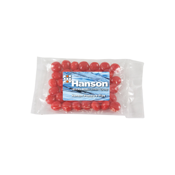 Small Promo Candy Bag with Cinnamon Red Hots