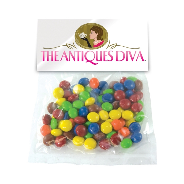 Large Candy Bag (with Header Card) with Chocolate Littles