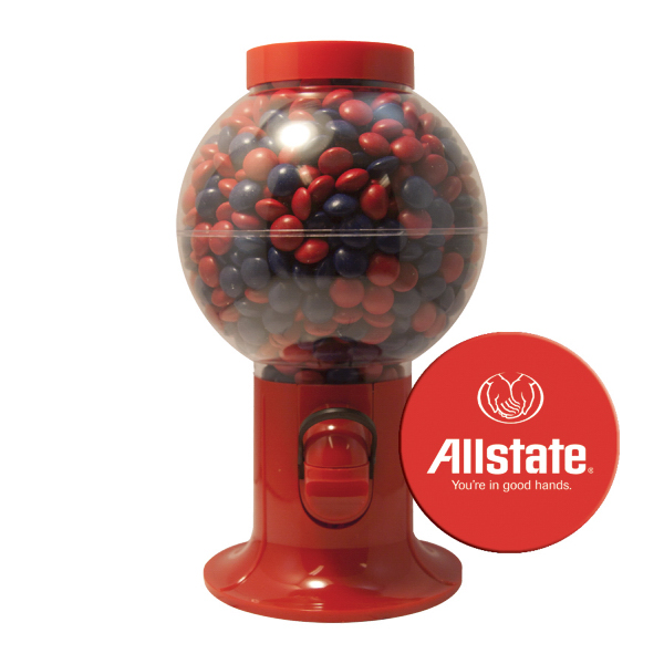 Gumball Machine with Chocolate Little Candy