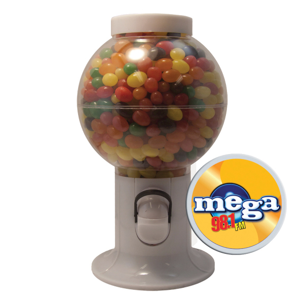 Gumball Machine with Jelly Bean Candy