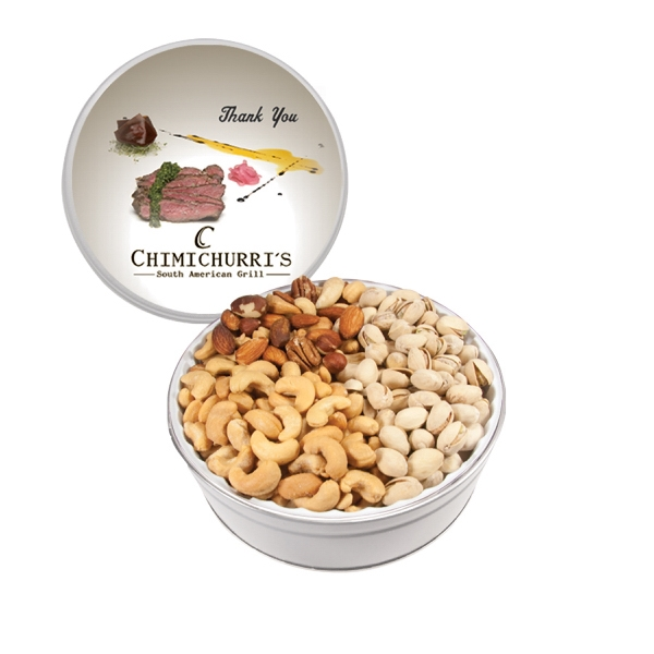 The Grand Tin with Mixed Nuts, Pistachios & Cashews