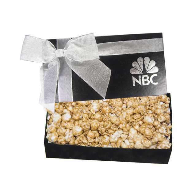 Executive Popcorn Christmas Food Gift Box - Caramel Popcorn