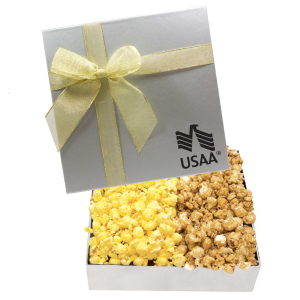 The Chairman Popcorn Gift Box - Caramel and Butter Popcorn