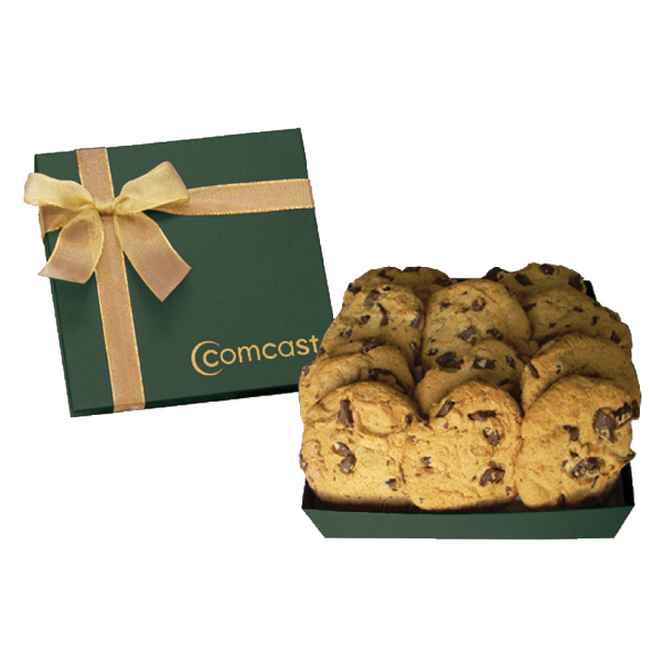 Chairman Cookie Food Gift Box with Chocolate Chip Cookies