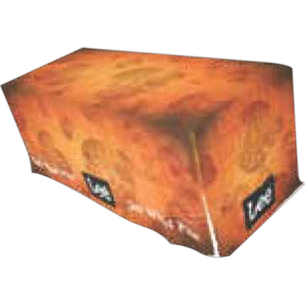 Promotional 7' All Panel Dye Sublimated Poplin Table Banner