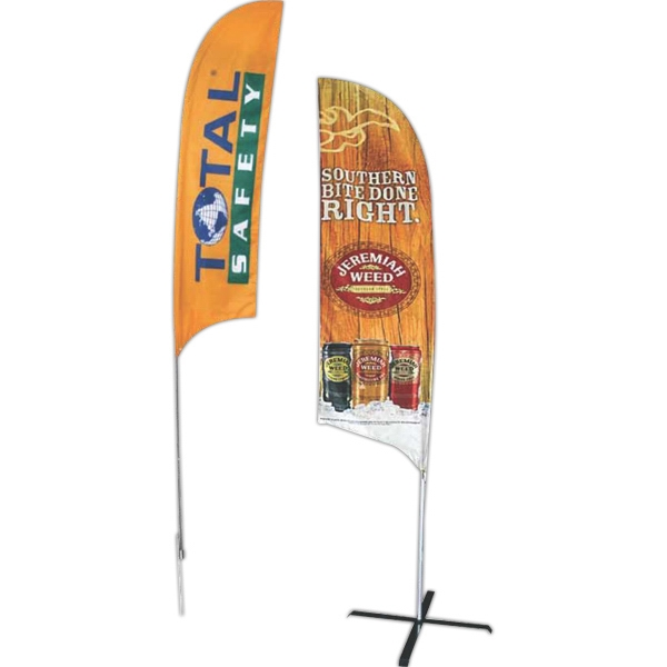 Imprinted Replacement Double-Faced Dye Sublimated Bowhead Banner