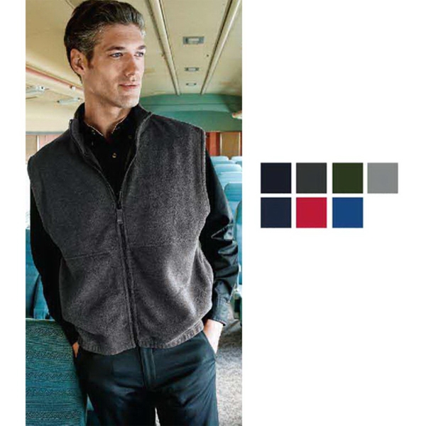 Sierra Pacific Full Zip Poly Fleece Vest