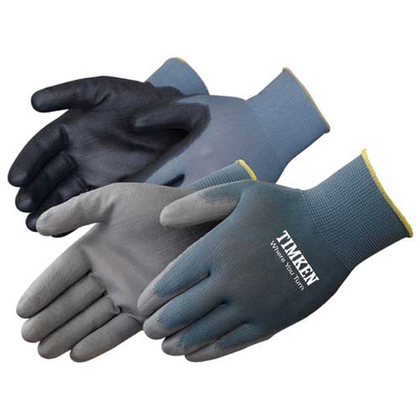 Custom Ultra thin polyurethane palm coated knit gloves