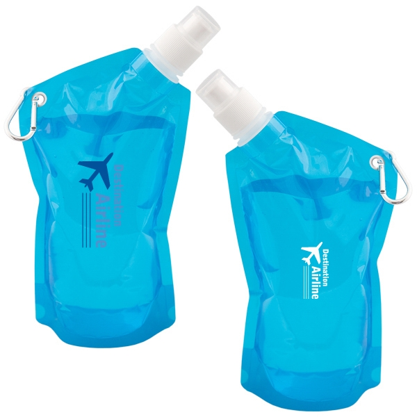 Folding 591 mL. (20 oz.) Water Bag