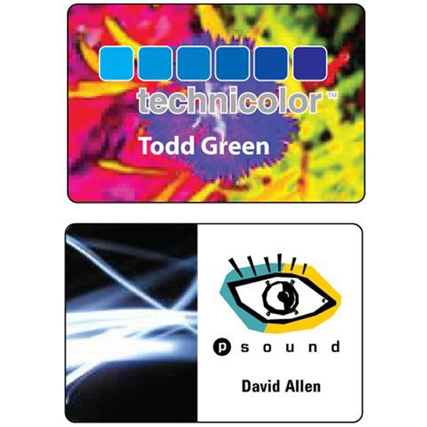 "2"" x 3"" Full color sublimation name badge"