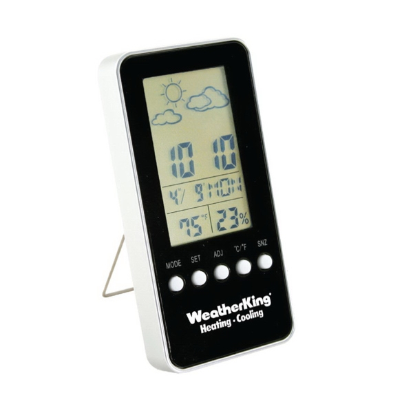Digital Weather Station With Alarm Clock