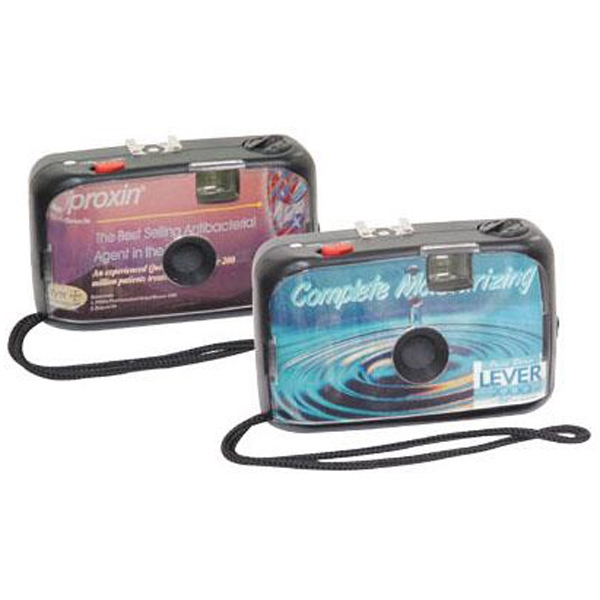 35mm reusable camera with full-color imprint
