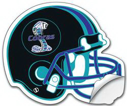 Personalized Removable Shaped Sticker / Decal -Vinyl UV Coated