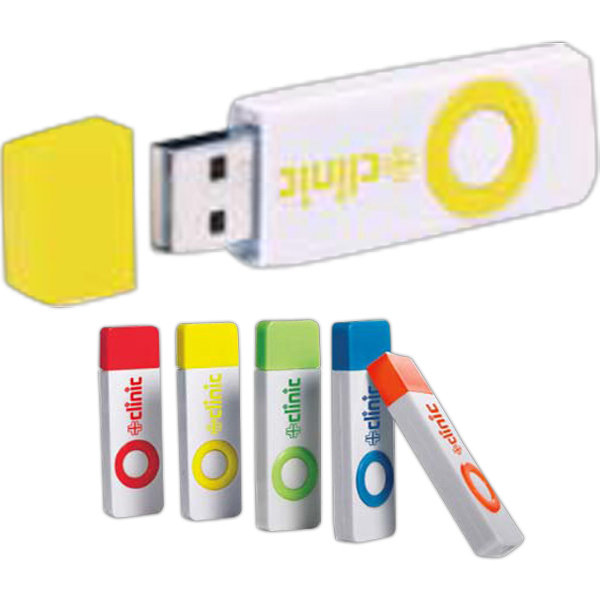 Customized Color pop USB 2.0 flash drive