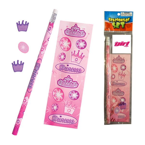 Printed Stationery Set - Princess