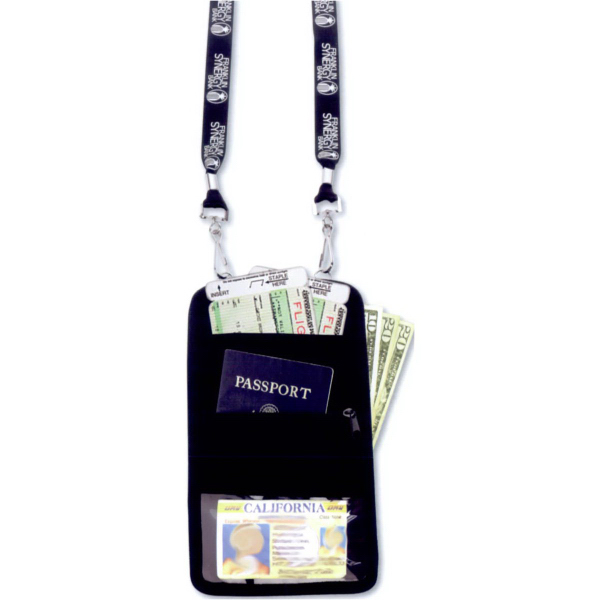 Promotional Passport neck wallet