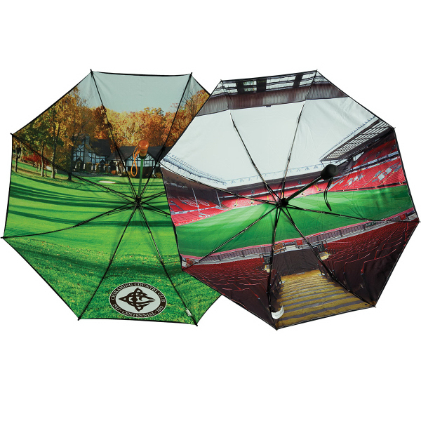 "Custom 58"" Folding Umbrella"