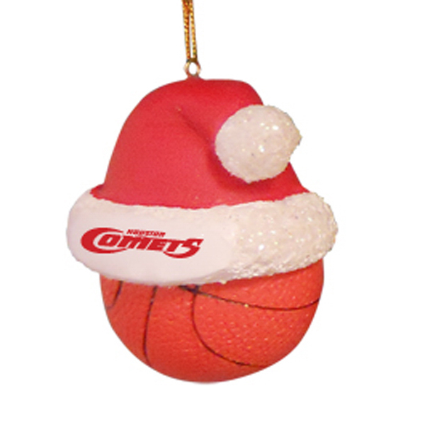 Personalized Holiday Sports Ball Ornaments